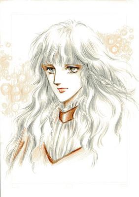 銀の髪の少女